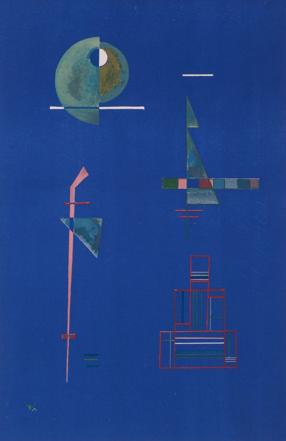 Wassily Kandinsky, Untitled, 1929, lithograph on paper, numbered 21/150, Purchase, George Taylor Richardson Memorial Fund, 1970 (13-110)