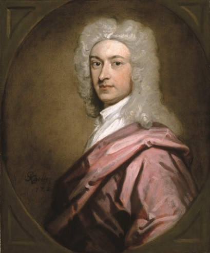 Godfrey Kneller, Portrait of a Man, 1722, oil on canvas. Gift of Alfred and Isabel Bader, 1991 (34-020.16) Photo: Bernard Clark