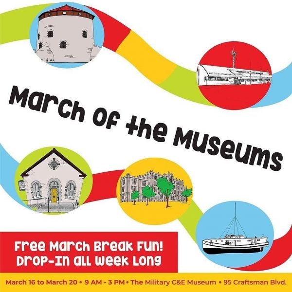 March of the Museums - 16-20Mar 9am-3pm
