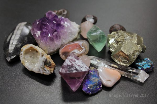 Gems, minerals, and fossils available at the Miller Museum gem and mineral sale