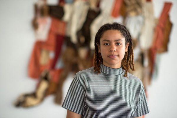 Tau Lewis, Stonecroft Foundation Artist-in-Residence. Photo: Garrett Elliott