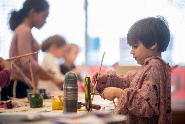 Creation Station  (Free Family Drop-In Care) at the Agnes